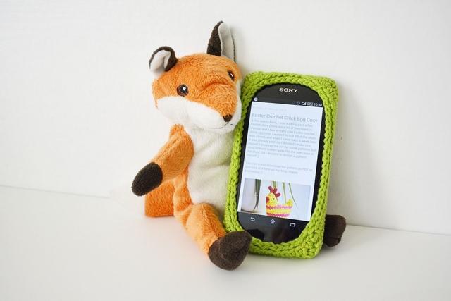 36 Crochet Smartphone Case