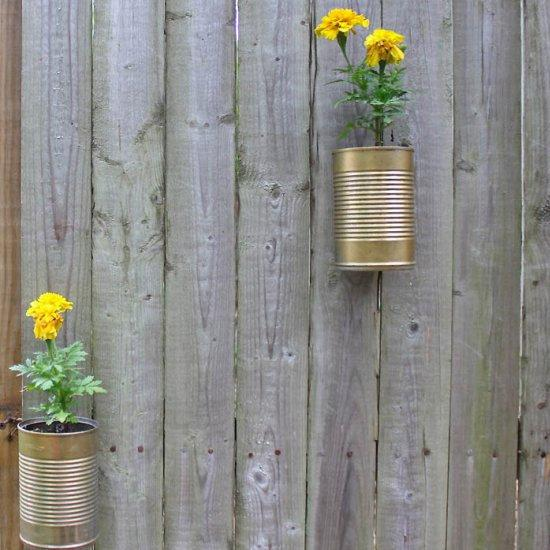 37 DIY Upcycled Tin Can Planters