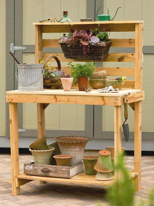 39 Build a Potting bench