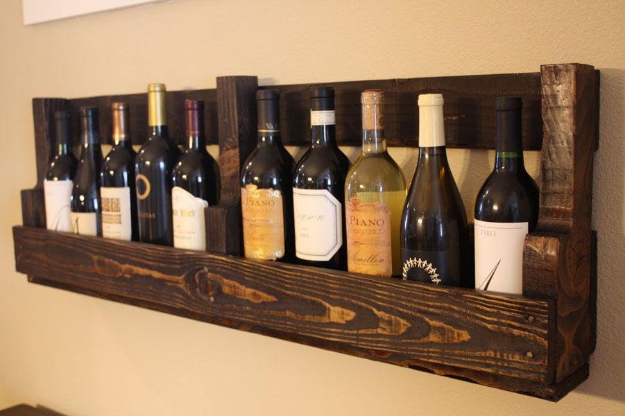 40 Pallet Wine Rack