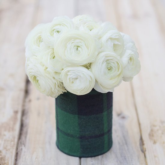 43 DIY Plaid Vase