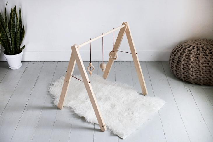 43 Wooden Baby Gym