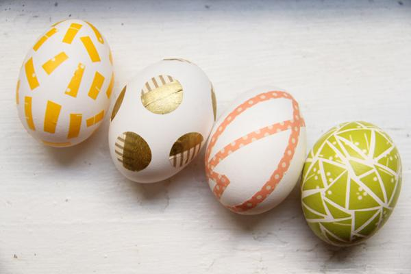 5 Washi Tape Easter Eggs