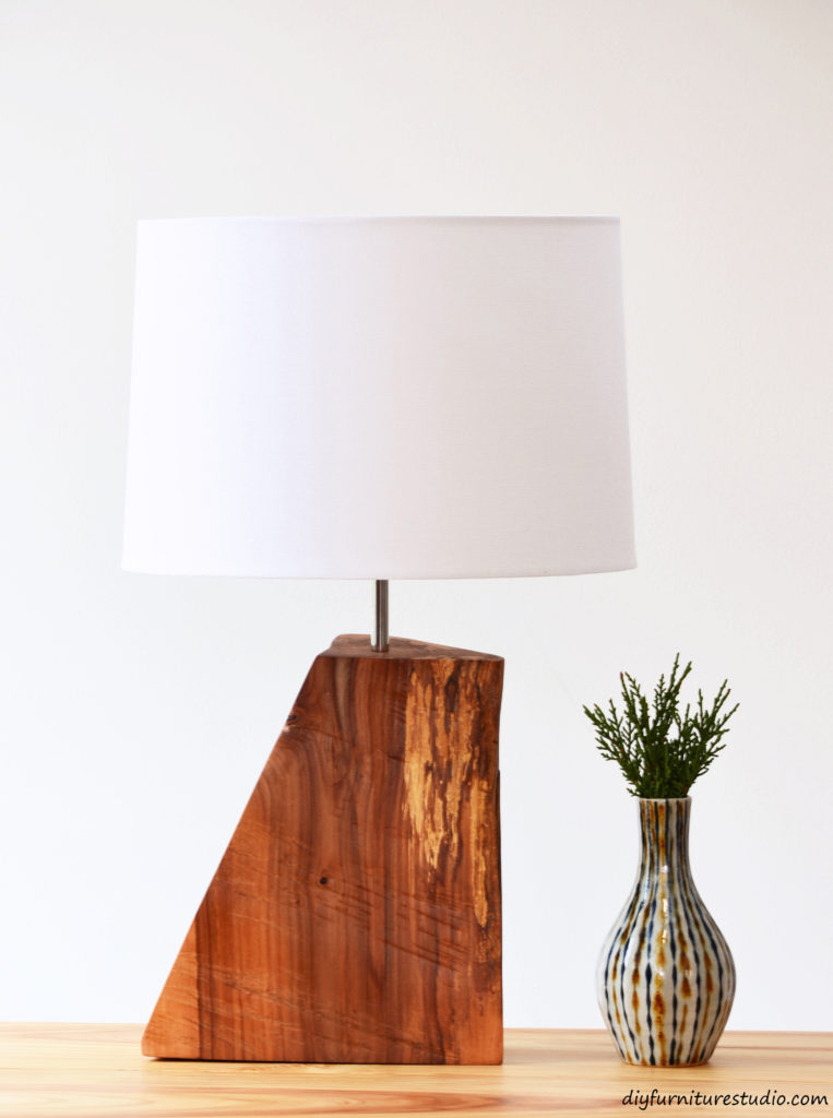 51 Rustic Natural Wood Table Lamp