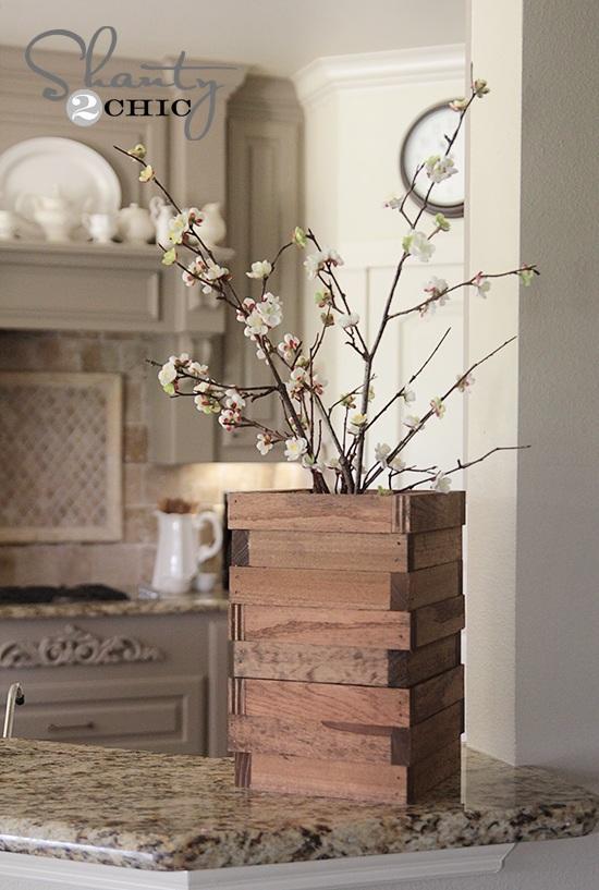 52 Scrap Wood Vase