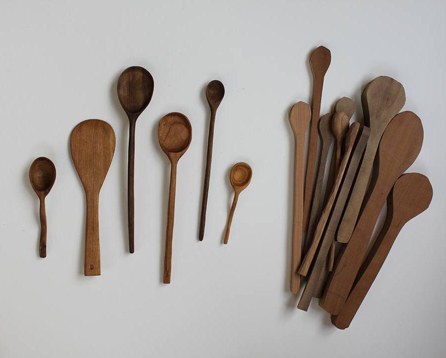 54 Wooden Spoons