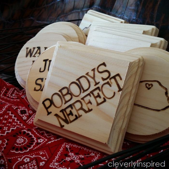 62 Wood Coasters