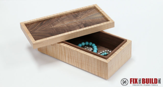 65 Simple Wooden Jewelry Box