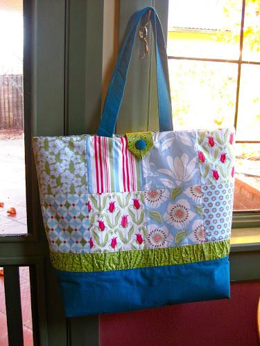 7 Patchwork Tote Bag