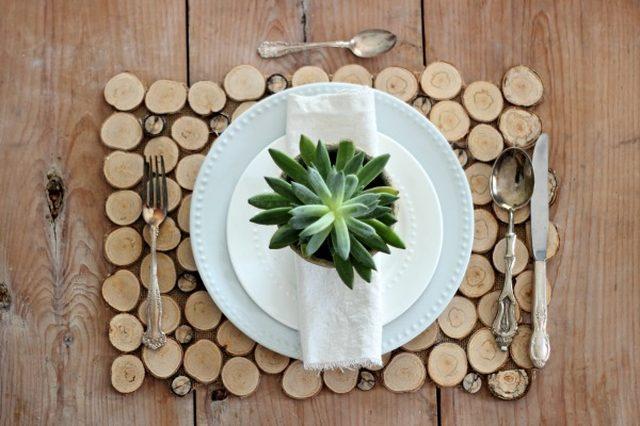 8 Wood Slice Craft
