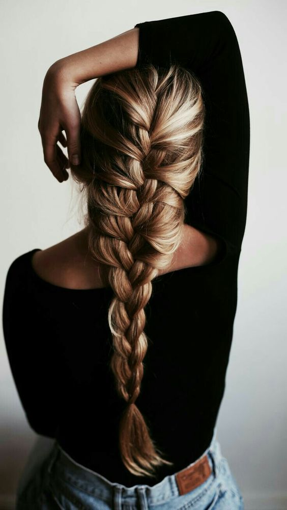 1 French Braid Hairstyles