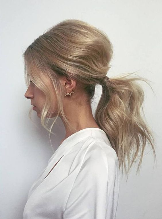 1 Messy Ponytail Hairstyles