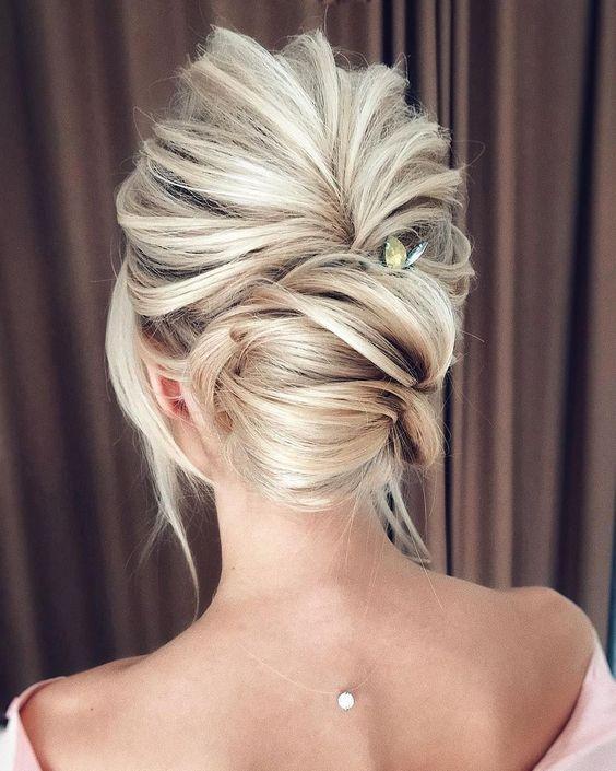 1 Updos for medium length hair