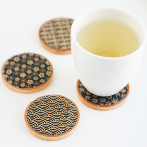 11 Asian Teacup Coasters