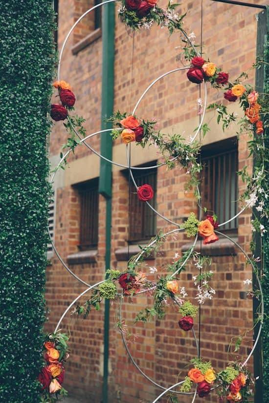 14 Crafty Hula Hoop Wreaths