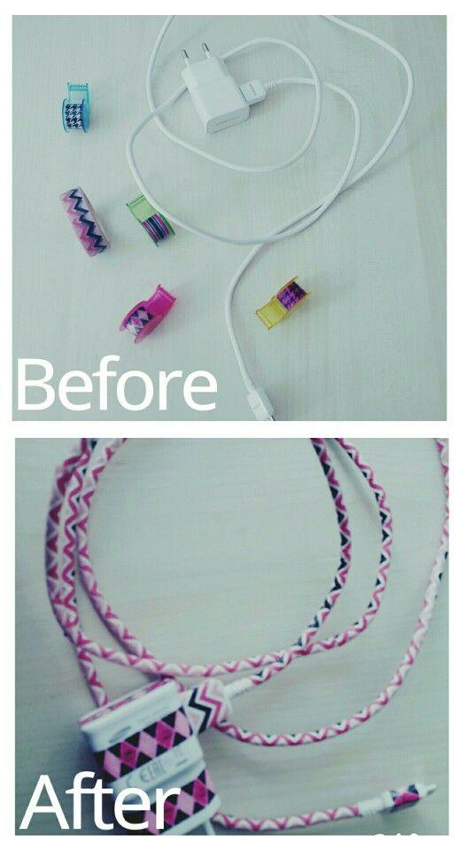15 Washi tape cord