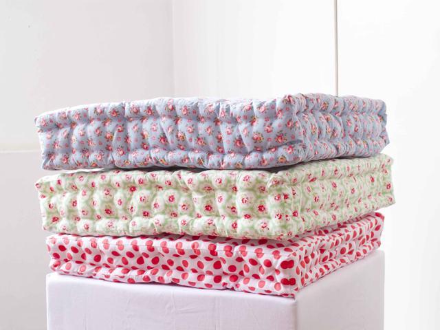 17 Tufted Floor Pillows