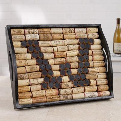 17 Wine Cork Letter