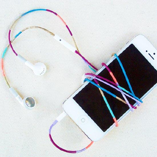 2 Colorful Nail Polish Headphones