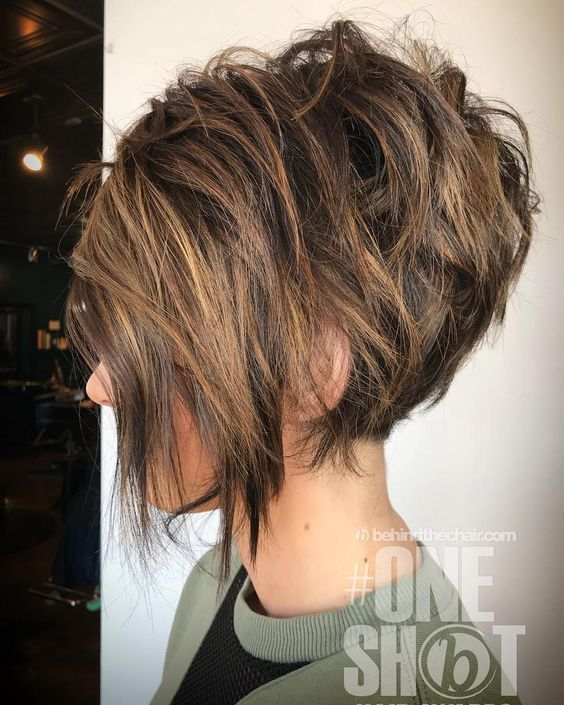 2 Messy Bob Hairstyles