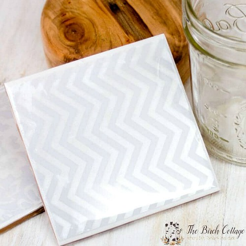 20 Ceramic Tile Coasters