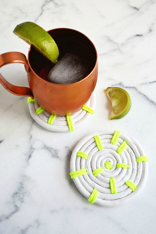 22 Easy Rope Coasters
