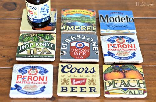 25 DIY Beer Coasters