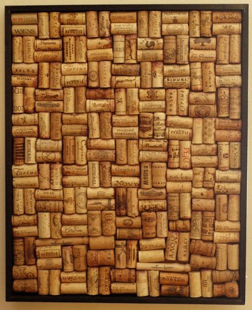25 Wine Cork Board