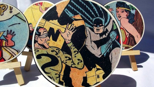 26 Comic Book Coasters