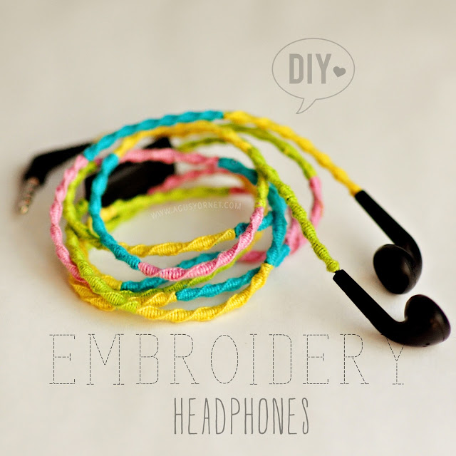 3 Embroidery Headphones