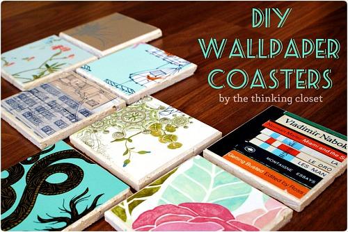 30 Wallpaper Coasters