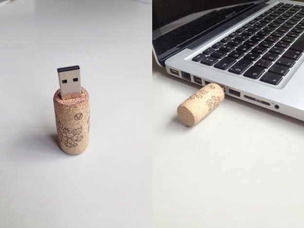 39 Wine Cork USB Flash Disk