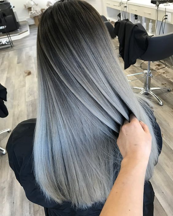 41 Ombre Straight Hair
