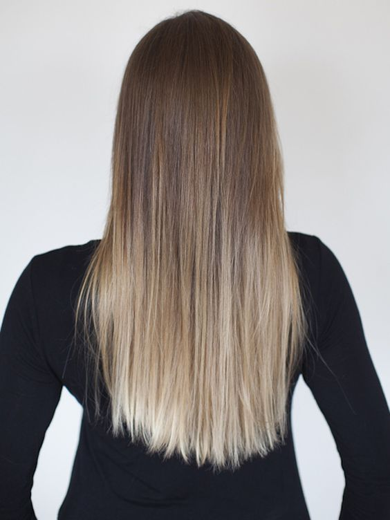 56 Ombre Straight Hair