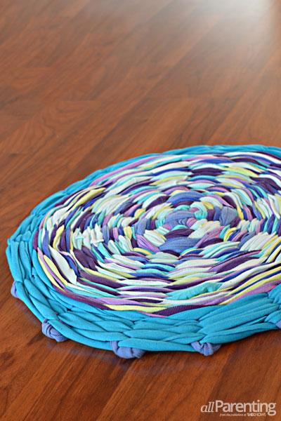 6 Hula Hoop Rag Rug