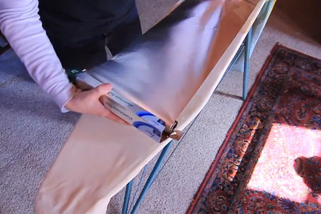 6 how to iron with foil