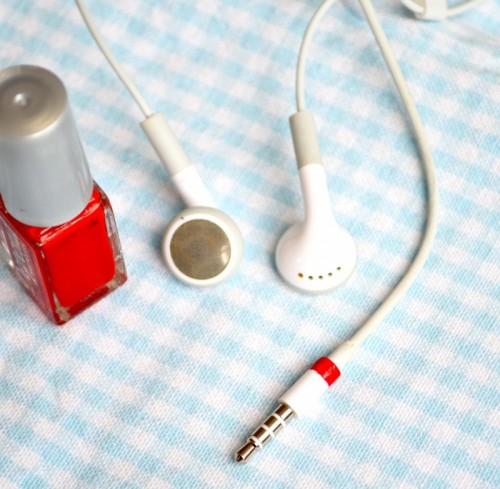 9 nail polish headphones