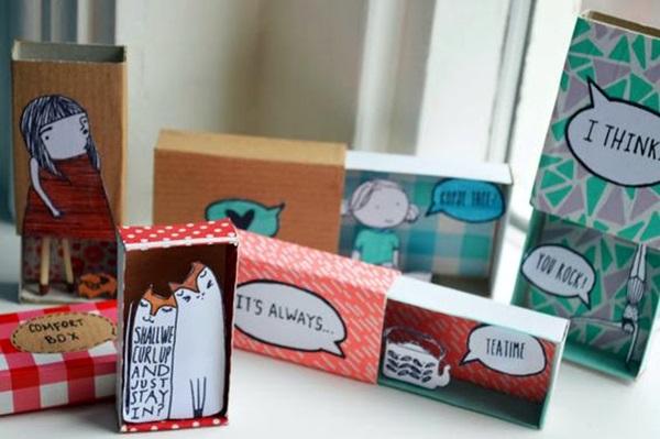 DIY-Match-Box-Art-Ideas-For-Kids-27