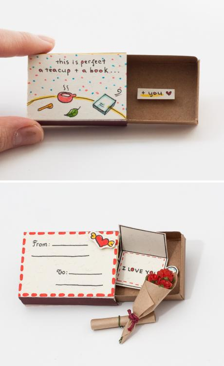 DIY Match Box Crafts Ideas 14