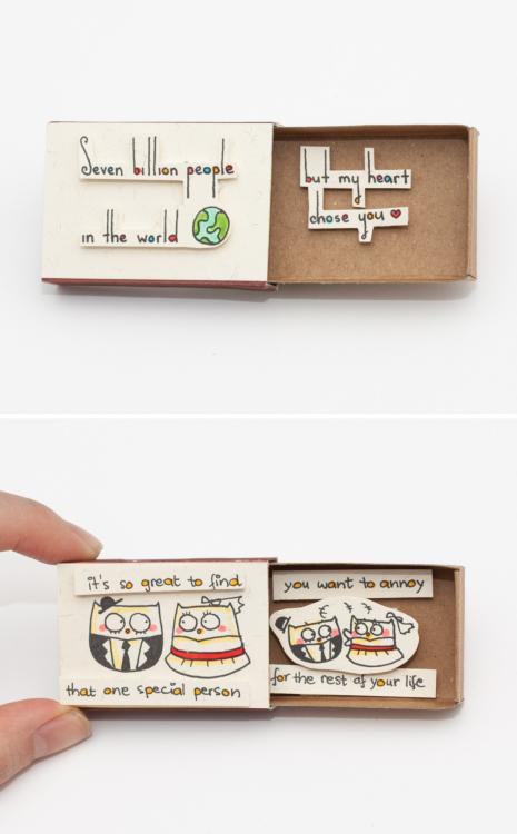 DIY Match Box Crafts Ideas 9