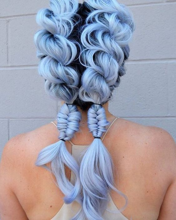 1 Pastel Blue Hairstyles