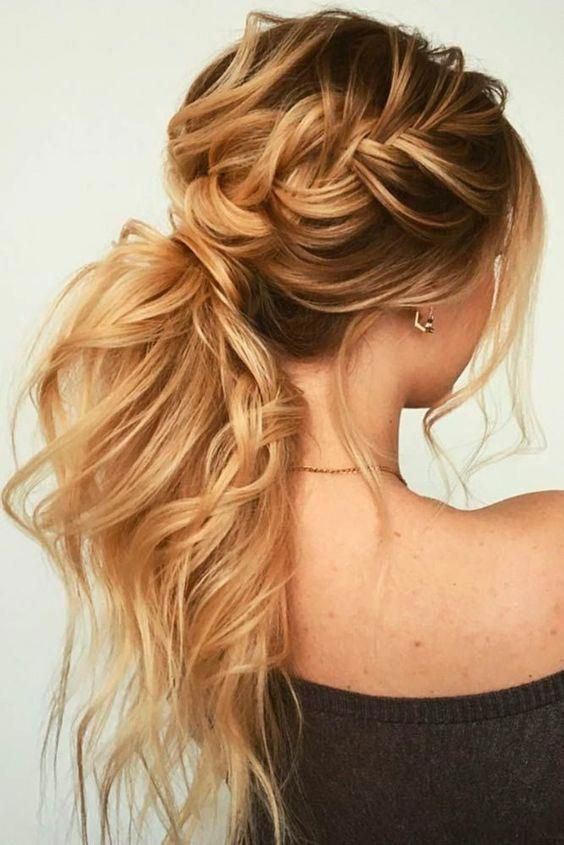 11 curly ponytail hairstyles