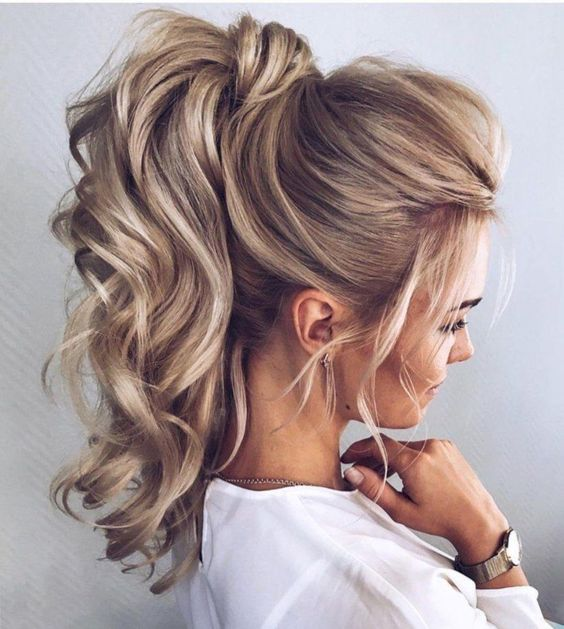 13 curly ponytail hairstyles
