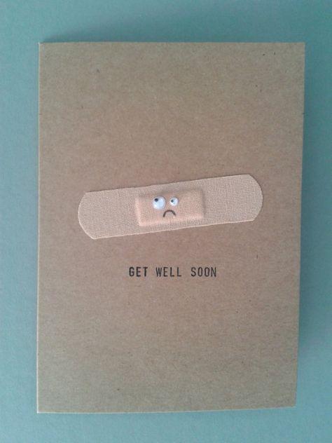 16 Handmade Get Well Soon Cards