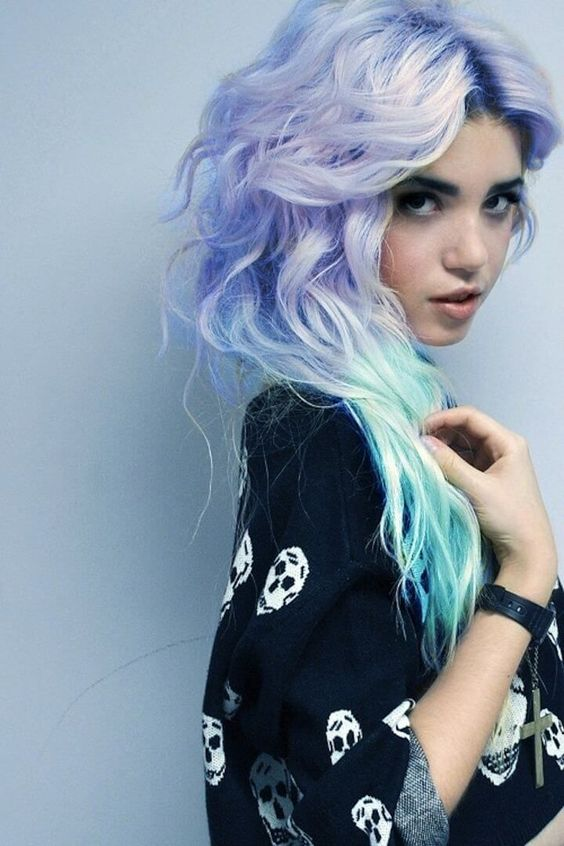 17 Pastel Blue Hairstyles