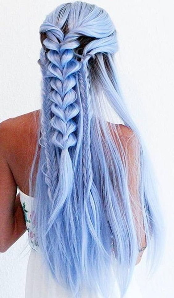 18 Pastel Blue Hairstyles