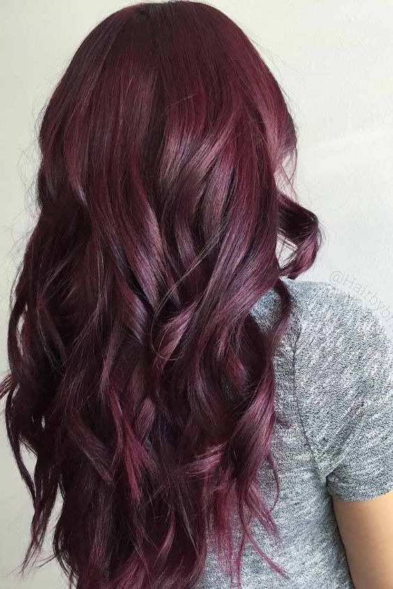 20 deep red hair color