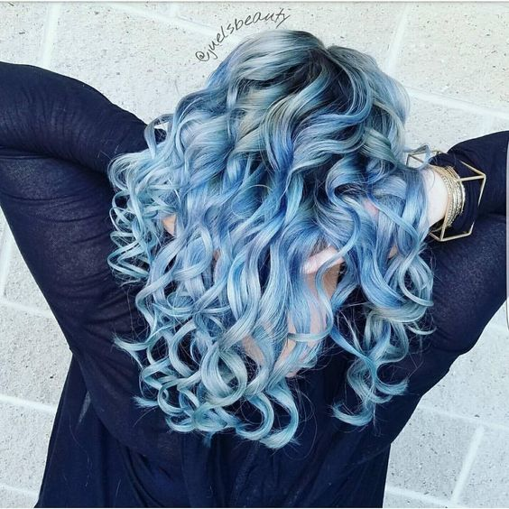 21 Pastel Blue Hairstyles
