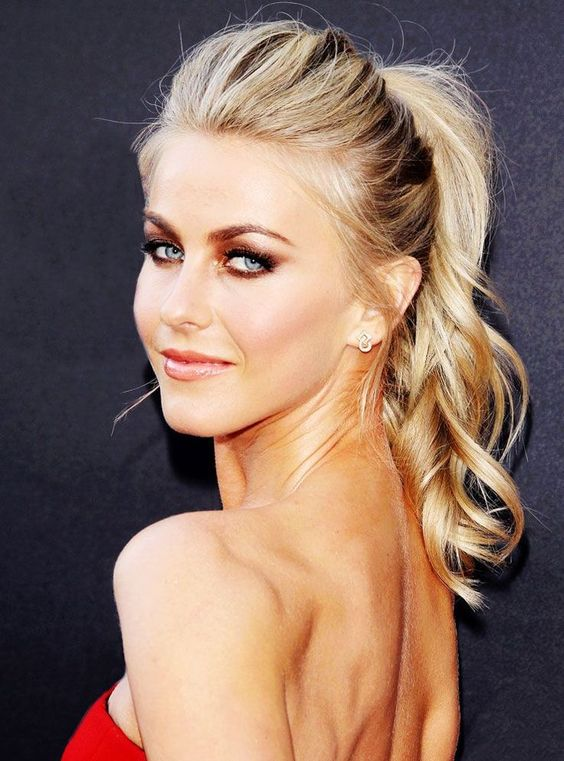 21 curly ponytail hairstyles