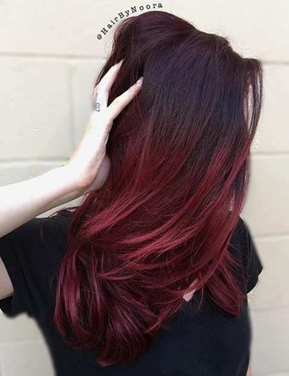 21 deep red hair color